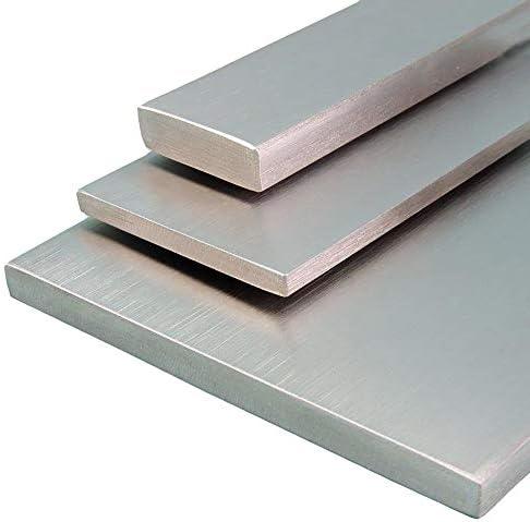 FRACHTFREI L/änge 1500 mm Abmessungen 40 x 4 mm Edelstahl Flachstahl V2A Oberfl/äche blank