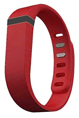 Dealzip Inc® Fitbit Flex Wristband Replacement Accessory,Red,Large
