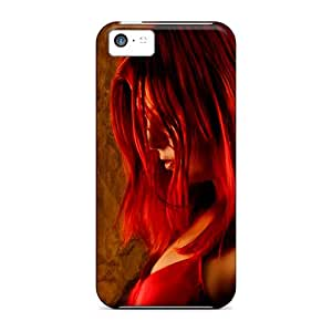 Fashion CSK7916Xhpp Case Cover For Iphone 5c(thinking)