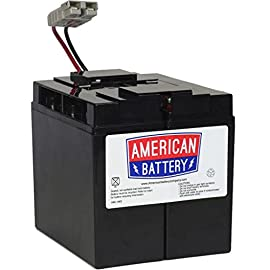 RBC7 UPS Replacement Battery  for APC By American Battery 89 2 year limited warranty Hot Swap Batteries; Plug-and-Play Installation Stock