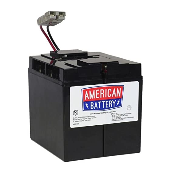 RBC7 UPS Replacement Battery  for APC By American Battery 1 2 year limited warranty Hot Swap Batteries; Plug-and-Play Installation Stock