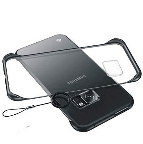 Back Cover for Samsung Galaxy S7 Edge  Hard|Thermoplastic Polyurethane|Black