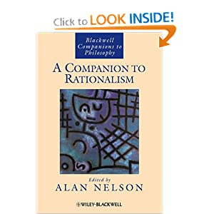 A Companion to Rationalism Alan Nelson