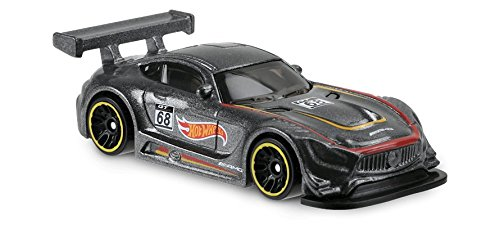 New Hot Wheels 2018 50th Anniversary Legends of Speed '16 Mercedes AMG GT3 72/365, Gray