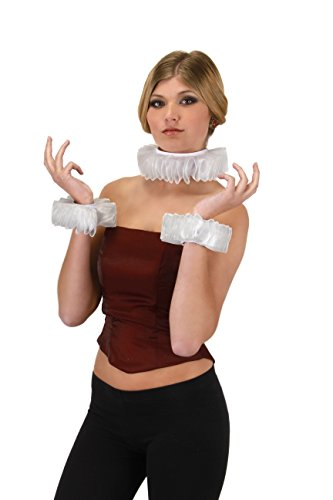 Renaissance Collar & Cuff Set Costume -