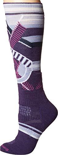 All Mountain Womens Snowboard Boots (Smartwool Women's PhD¿ Ski Medium Pattern Mountain Purple Large)