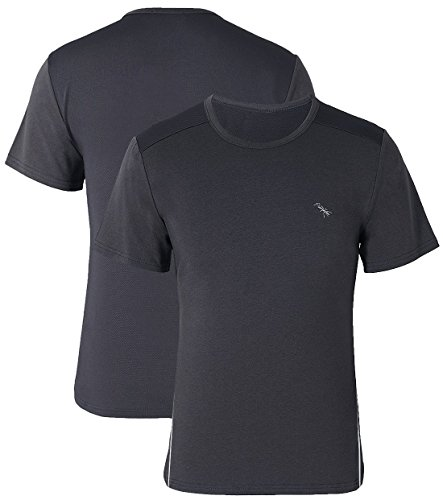 BIGANT Men's T-Shirts, Short Sleeve Active T-Shirt for Men Sports,Wicky&Cooling - 48 Inch Mesh Table