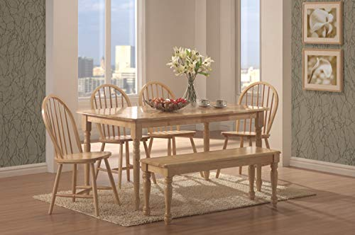 (Benson Rectangle Dining Table Natural)