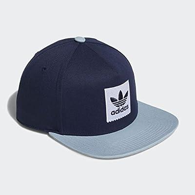adidas Men's Originals Two-Tone Trefoil Snapback Hat CE2611 by Adidas Skateboarding