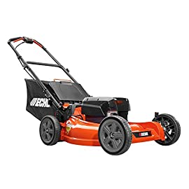 ECHO 21 in. 58-Volt Lithium-Ion Brushless Cordless Mower-CLM-58V4AH 2 4-point, 7-position cutting height adjustment enables versatile cutting Brushless Motor for Superior Power, Run Time, and Durability Includes 58-Volt High Capacity Lithium-Ion Battery and Charger