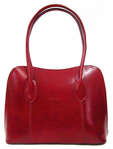 Benagio , Damen Tote-Tasche rot