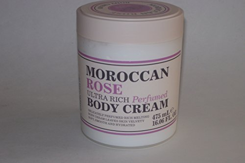 Creightons The Aroma Company Ultra Rich Body Cream, Moroccan Rose 16.06 Fl Oz. Rose Body Cream