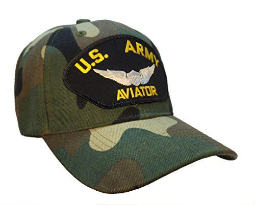 US Army Aviator Hat Camo Ball - Aviators Us