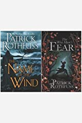 """The Kingkiller Chronicles Volume I and II """"Name of the Wind"""" and """"Wise Man's Fear"""" Hardcover"""