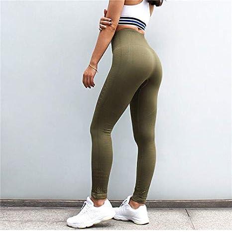 Jzenzero Women High Waist Pants Yoga Leggings Anti-Cellulite Slim Compression Breathable Hollow Pants