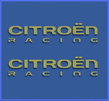 Pegatinas CITRO/ËN Racing DR1017 Vinilo ADESIVI Decal AUFKLEBER КЛЕЙ Stickers Car Voiture Sport Racing