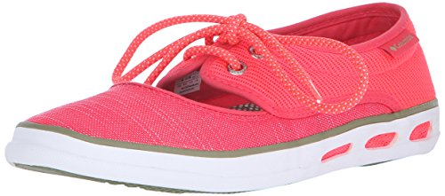 Red Vent Peep WoMen Vulc Laser N Columbia Moss Loafers Toe Cool wq8TtCPPx