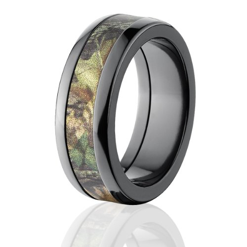 Mossy Oak Rings, Camouflage Wedding Bands, New Breakup Camo Ring