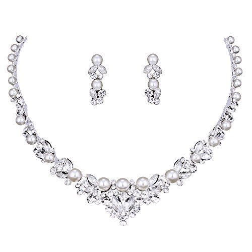 Wedding Crystal Jewelery Earrings Necklace product image