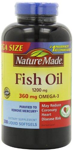 Nature Made Fish Oil Omega-3 1200mg,