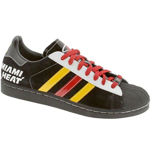 larghezza 12 rosso Sneakers normale colore Heat Superstar taglia Uomo Adidas nero XXRY1qa