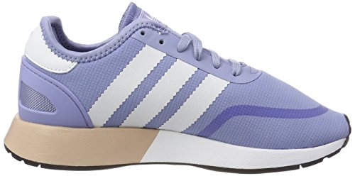 adidas Iniki Runner CLS, Sneakers Basses Femme Multicolore (Chablu/ftwwht/ftwwht Aq0268)