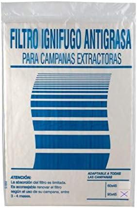 Universal - Filtro papel campana extractora 90x45: Amazon.es: Bricolaje y herramientas
