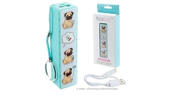 PUCKATOR Llavero con Power Bank USB - Carlino - Pugs ...