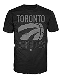 9ab710a0 NBA Toronto Raptors Cropped Claw Basketball Mens Black T-Shirt