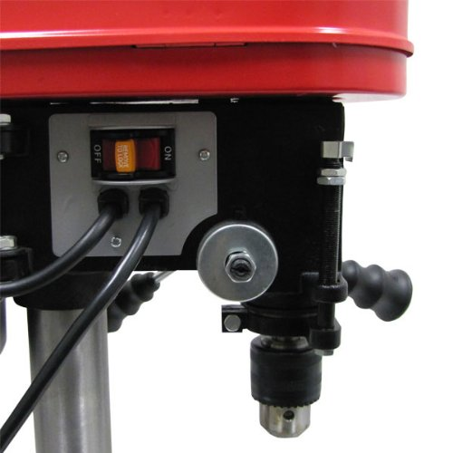 Mini Drill Press 5 Speed Adjustable Work Bench Drill Press with Tilting Table by EZ Travel Collection (Image #2)