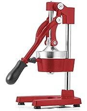 SOGA Commercial Manual Juicer Hand Press Juice Extractor Squeezer Orange Citrus Red