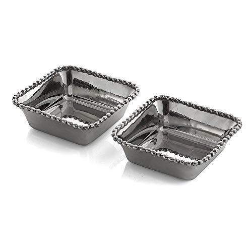 Michael Aram Molten Mini Snack Dishes, Set of 2 - No Color