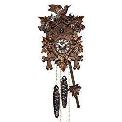 Mechanical Cuckoo Clock with One Day Movement, 9 Inch