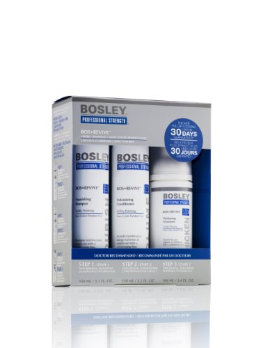 Bosley Revive Starter Pack for Visibly Thinning / Non Color-treated Hair