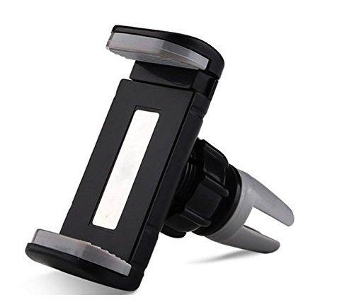 RAGA 360 Degree Rotate Car Phone Mount, Mini Air Vent Car Mount Holder Cradle for iPhone 7 7 Plus/ 6s Plus/6s/6, Samsung Galaxy S8 Edge S7 S6 Note 5, Nexus 6, & Smartphones. by RAGA CREATIONS INC (Image #3)