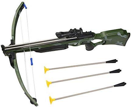 MILAEM Sport Suction Dart Crossbow Set Bow & Arrow Archery