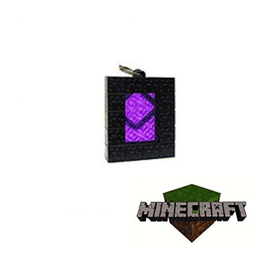 Minecraft - Llavero con figurita de portal del Inframundo ...
