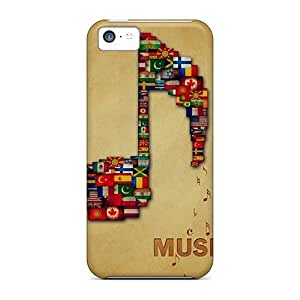 Forever Collectibles Music Hard Snap-on for iphone 4/4s Case
