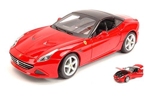 FERRARI CALIFORNIA T (CLOSED TOP) 2014 rosso 1 18 - Burago - Auto Stradali - Die Cast - modellolino