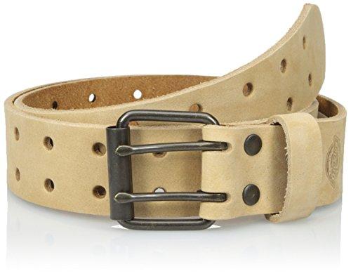 Dickies Men's Leather Double Prong Belt (Belt Dickies Mens)