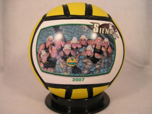 """""""RIDER UNIVERSITY Fans - Customize YOUR Broncos Water Polo Ball - Create YOUR personal fan ball, we can print your favorite photo, graphic, and text message on our signature balls in FULL color."""""""