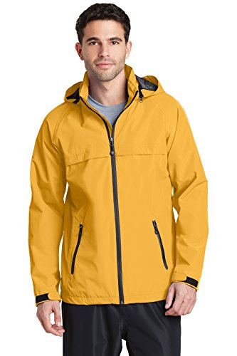 Port Authority Torrent Waterproof Jacket J333 Slicker Yellow Large ()