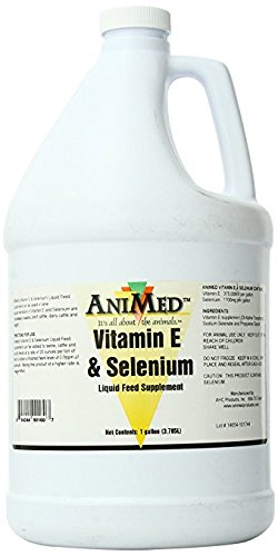 AniMed Vitamin E and Selenium Liquid Supplement for Horses by AniMed