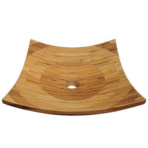 892 Bamboo Vessel Bathroom Sink