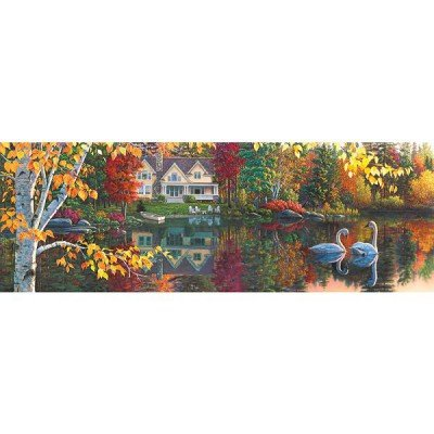 Master Pieces Autumn Grace Panoramic Jigsaw Puzzle ()