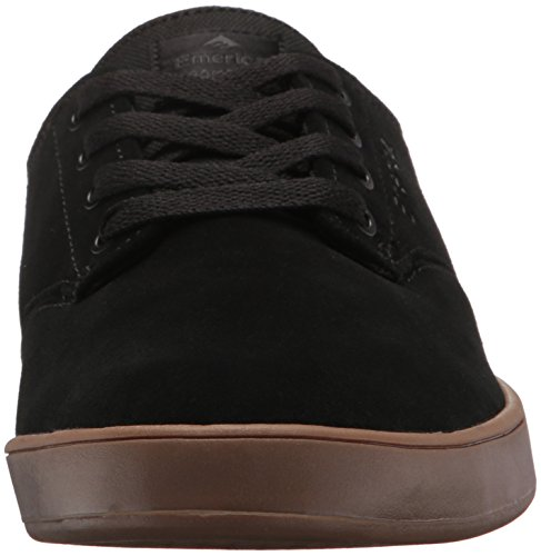 Emerica The Romero Laced - Monopatín Para Hombre, Color Negro, Talla 47 EU (13 UK)