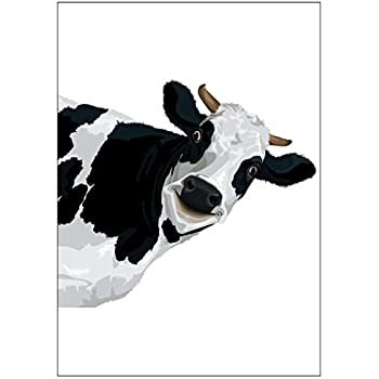 Amazon Nw Pitney Ink Random Act Of Cow Birthday Card 5 X 7