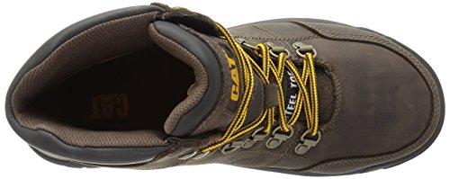 Caterpillar Mens Outline Steel Toe Lavoro Boot Seal Marrone