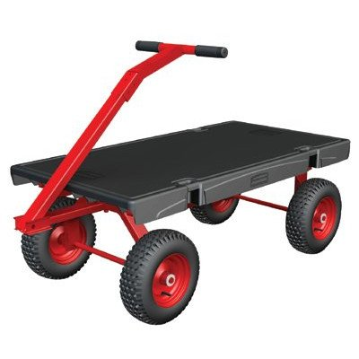 Rubbermaid-Commercial-Products-FG447900-5th-Wheel-Wagon-Platform-Truck-2000-Pound-Load-Capacity-60-Inches-x-30-Inches-Black