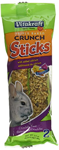 - Vitakraft Treat Chinchilla Calcium Sticks Net Wt 3.5 OZ -- 2 Pack